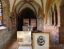 Sulejów. Fragment muzeum w Opactwie Cystersów w Podklasztorzu. (fot. Paulina Gajzler)