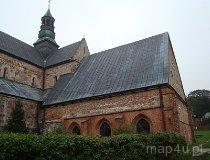 Sulejów-Podklasztorze. Widok na budynek muzeum. (fot. Karolina Pawlak)
