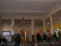 Skierniewice. Dworzec Kolejowy 1875 r. Wnętrze - malowidła. (fot. Monika Starecka)