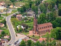 Konopiska. Kościół pw. św. Walentego (fot. Kacper Dondziak)