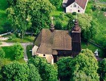 Sieroty. Kościół pw. Wszystkich Świętych (fot. Kacper Dondziak)