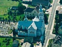 Chełm Śląski. Kościół św. Trójcy (fot. Kacper Dondziak)