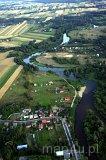Rzeka Warta przepływająca przez Konopnicę (fot. Kacper Dondziak)