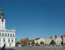Chełmno. Panorama na ratusz i Stary Rynek (fot. Piotr Wojtaszek)