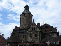 Leśna. Zamek Czocha. Widok na wieżę zamkową (fot. Piotr Wojtaszek)