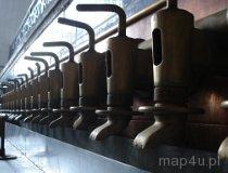 Tychy. Muzeum Piwowarstwa w Tychach. Oryginalne wyposażenie fabryczne z XIX wieku (fot. Piotr Wojtaszek)