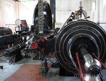 Zabrze. Skansen Królowa Luiza, maszyna parowa pracująca w szybie wyciągowym (fot. Maciej Kronenberg)