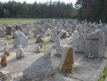 Treblinka. Hitlerowski obóz zagłady Treblinka. Pomnik upamiętniający miejsce mordu ludności żydowskiej (fot. Piotr Wojtaszek)