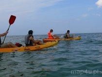 Spływ kajakiem do morza (fot. Daria Konieczna)