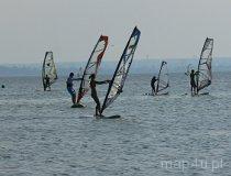 Windsurfing po Bałtyku (fot. Łukasz Konieczny)