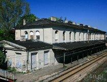 Sosnowiec. Dworzec kolejowy w maczkach, przy ul. Krakowskiej (fot. Agnieszka Drożdż i Jurek Hyra)
