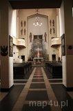 Katowice. Kościół garnizonowy św. Kazimierza. Wnętrze (fot. Magdalena Suchan)