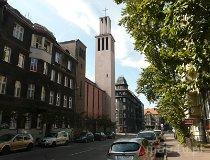 Katowice. Kościół Garnizonowy pw. św. Kazimierza Królewicza (fot. Janusz Dębowski)