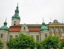 Pszczyna. Kościół Ewangelicko-Augsburski (fot. Marek i Ewa Wojciechowscy)