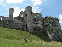 Ogrodzieniec. Ruiny zamku (fot. Maciej Kronenberg)