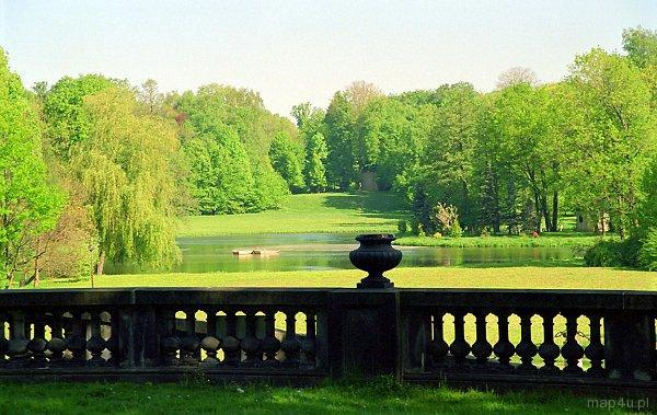 Pszczyna. Park pałacowy