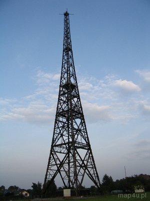 Gliwice. Antena nadawcza