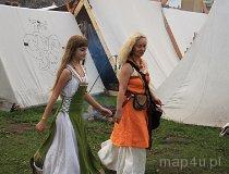 Wolin. Festiwal Słowian i Wikingów 2011 - Niewiasty i dzieci (fot. Łukasz Konieczny)