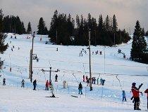 """Jurgów. Stacja narciarska """"Jurgów"""" (fot. Łukasz Konieczny)"""