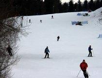 """Kasina Wielka. Wyciąg narciarski """"Śnieżnica"""" (fot. Łukasz Konieczny)"""