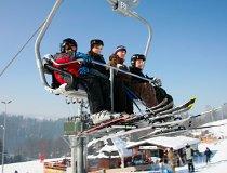 """Wisła. Wyciąg narciarski """"Nowa Osada"""" (fot. Jurek Hyra)"""
