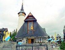 Zakopane. Sanktuarium Matki Bożej Fatimskiej na Krzeptówkach (fot. Marek i Ewa Wojciechowscy)