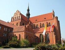 Pelplin. Bazylika katedralna WNMP (fot. Łukasz Konieczny)