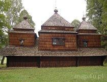 Smolnik. Cerkiew grekokatlocka pw. św. Archanioła Michała (fot. Anna Omiecińska)