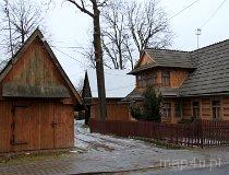 Chochołów. Zabudowa wsi podhalańskiej (fot. Łukasz Konieczny)