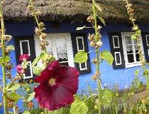 Maurzyce. Skansen, drewniana chata (fot. Justyna Kurek)