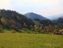 Beskid Sądecki. Widok z Jaworek (fot. Marek i Ewa Wojciechowscy)