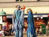 """Festiwal Teatrów Ulicznych """"TrotuArt"""" 2006 (fot. Anna Omiecińska)"""