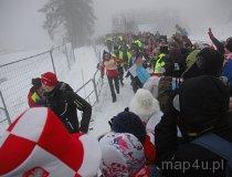 Jakuszyce. Puchar Świata w biegach narciarskich. Justyna Kowalczyk (fot. Piotr Wojtaszek)