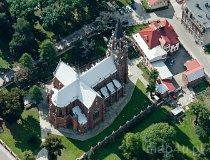 Racibórz. Kościół pw. św. Jana Chrzciciela na Ostrogu. Sanktuarium Jezusa Boleściwego (fot. Kacper Dondziak)