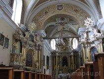 Konopnica. Wnętrze kościoła pw. św. Rocha. (fot. Maciej Kronenberg)