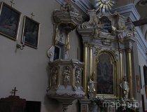 Konopnica. Ołtarz boczny kościoła pw. św. Rocha. (fot. Maciej Kronenberg)