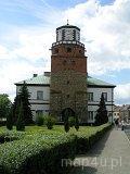 Wieluń. Brama Krakowska - obecnie budynek ratusza miejskiego. (fot. Marta Pabich)