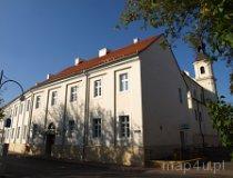 Wieluń. Dawny klasztor Pijarów, widok od strony ul. Królewskiej, XVIII w. (fot. Marta Pabich)